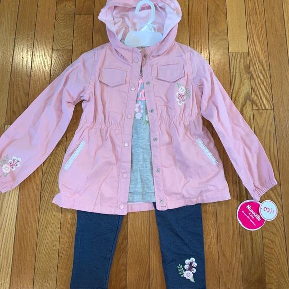 Nannette Kids 3-Piece Outfit Girls sz 6X